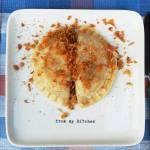 Pierogi z soczewicą i suszonymi pomidorami
