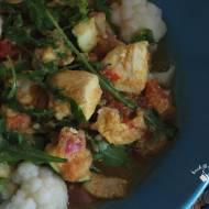 Kalafiorowe curry z kurczakiem