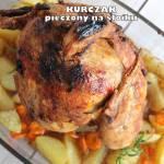 Kurczak pieczony na słoiku