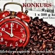 Konkurs z CoffeeForYou Wygraj 500 g kawy Brazil Yellow Burbon