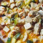 Kurczak z tofu i warzywami