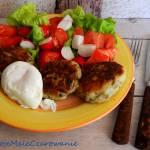 Placuszki z ziemniaków i pieczarek