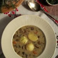 Zupa ze świeżych grzybów – kuchnia podkarpacka