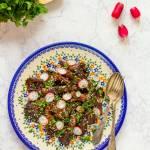 Boczniaki smażone z sosem sojowym, imbirem i czosnkiem