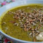 Rozgrzewająca zupa z dyni i jarmużu