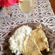 Schab w białym winie na patelni w 10 minut