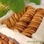 Maślane ciasteczka z orzechami