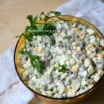 Sałatka jarzynowa kukurydzą z chili