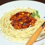 Spaghetti Z Sosem Meksykańskim