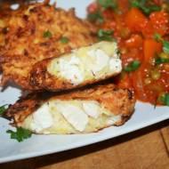Placki ziemniaczano – cukiniowe z kurczakiem