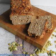 Żytnio - orkiszowy chleb na zakwasie z pestkami dyni