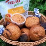 Muffinki z suszonymi morelami
