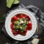 Sałatka z pieczonej papryki (dieta dr Dąbrowskiej)