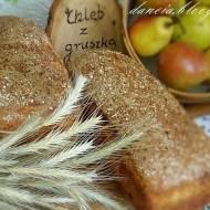Chleb na zaczynie z gruszką