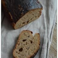 Pszenno-zytni chleb ze slonecznikiem, na zakwasie