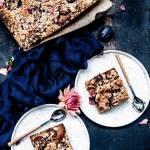Ciasto ze śliwkami z migdałową kruszonką