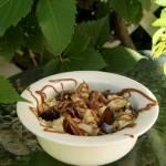Kasza jaglana ze śliwkami i gruszką