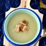 Zupa krem z pora i ziemniaków