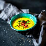 Wegańskie curry - krem z dyni