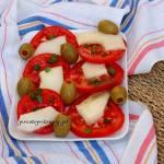 Pomidor z melonem- przystawka