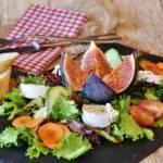 Sałatka z kozim serem i figami