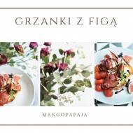Chałka z figą, mascarpone, szynką parmeńską i balsamico