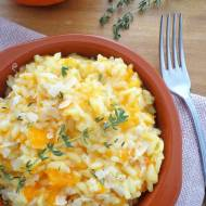Dyniowe risotto (Risotto alla zucca)
