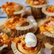 Eksplodujące muffiny z pianką cukrową