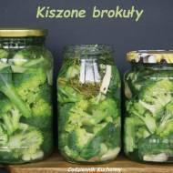 Kiszone brokuły.