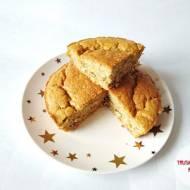 Ciasto dyniowe z migdałami