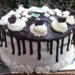 tort wuzetka-drip cake