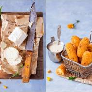 Paluszki ziemniaczane z kozim serem / Potato fingers with goat cheese