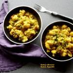 Aloo gobi - kalafior smażony z ziemniakami