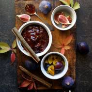 Konfitura ze śliwek i fig