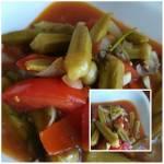 Okra z pomidorami
