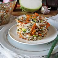 Surówka obiadowa z kalarepy