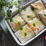 Tortille po meksykańsku zapiekane