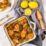 Udka z kurczaka z cytryną i rozmarynem