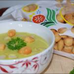 Zupa Krem z Pora i Groszku