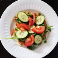 Omlet z szynką i warzywami