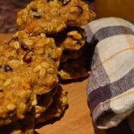 Ciasteczka dyniowe z żurawiną (dodające energii)