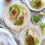 Filety faszerowane papryką, serem i limonką