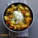 Curry dyniowo-kalafiorowe z kurczakiem
