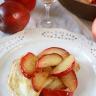 Jabłkowe Crêpes Suzette