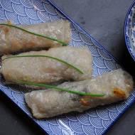 Sajgonki z mięsem wieprzowym