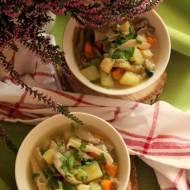 Zupa jarzynowa z boczniakami