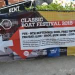 Classic Boat Festival 2018, St.Katherine Docks, Londyn...