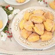 ciasteczka serowe obtoczone cukrem