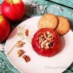 Jabłka pieczone z miodem i orzechami