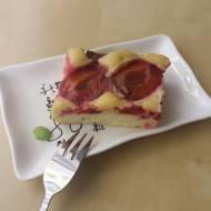 Szybkie i proste ciasto ze śliwkami